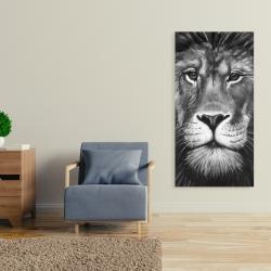 Canvas 24 x 48 - Lion portrait