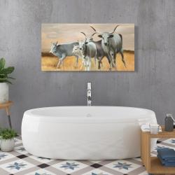 Canvas 24 x 48 - Nguni breeding