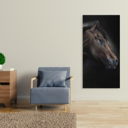 Canvas 24 x 48 - Loneliness horse