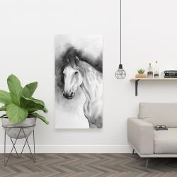 Canvas 24 x 48 - Domino horse