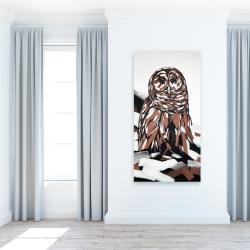 Canvas 24 x 48 - Tawny owl