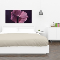 Canvas 24 x 48 - Purple petals
