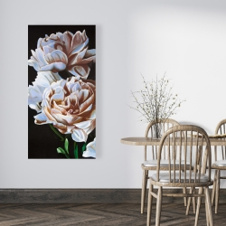 Canvas 24 x 48 - Peonies