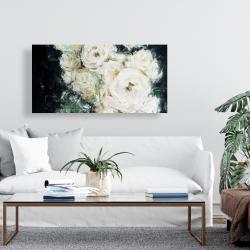 Canvas 24 x 48 - Garden roses