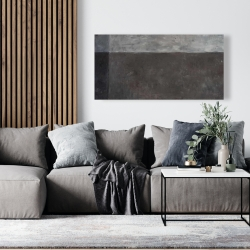 Canvas 24 x 48 - Shades of gray