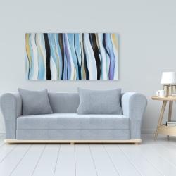 Canvas 24 x 48 - Blue mood