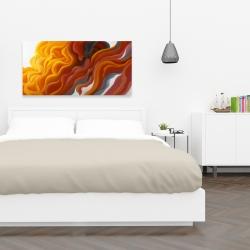 Canvas 24 x 48 - Colorful smoke