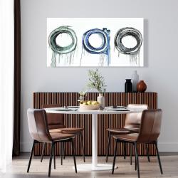 Canvas 24 x 48 - Trio of circles
