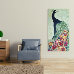 Canvas 24 x 48 - Proud as a peacock