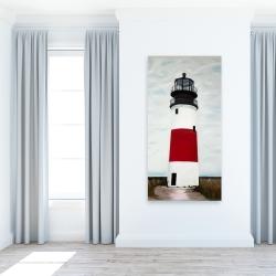Canvas 24 x 48 - Sankaty head lighthouse