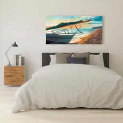 Canvas 24 x 48 - Peaceful seaside