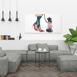 Canvas 24 x 48 - Best friends fashion