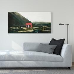 Canvas 24 x 48 - Isolated shack