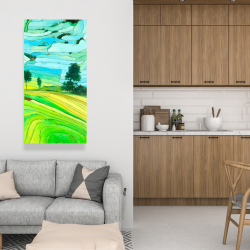 Canvas 24 x 48 - Rice fields of vietnam
