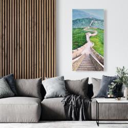 Canvas 24 x 48 - Great wall of mutianyu