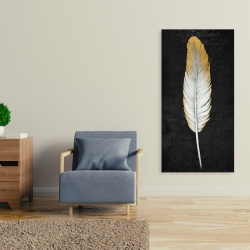 Canvas 24 x 48 - Golden feather