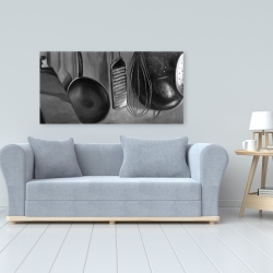 Canvas 24 x 48 - Kitchen tools for chef