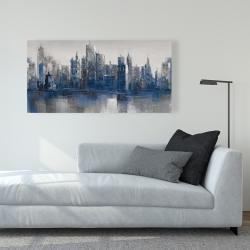 Canvas 24 x 48 - Melancholy city