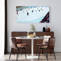 Canvas 24 x 48 - Game of hockey
