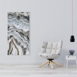 Canvas 24 x 48 - Abstract geode