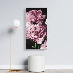 Canvas 24 x 48 - Pink peonies