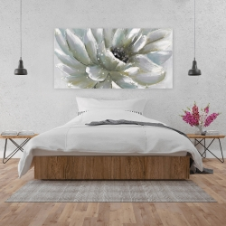 Canvas 24 x 48 - White chrysanthemum