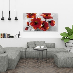 Canvas 24 x 48 - Anemone flowers