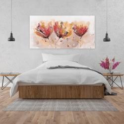 Canvas 24 x 48 - Four little flowers