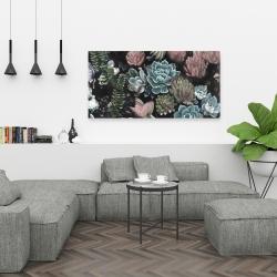 Canvas 24 x 48 - Succulent set