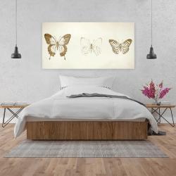 Canvas 24 x 48 - Butterflies sketch