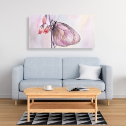Canvas 24 x 48 - Delicate butterfly