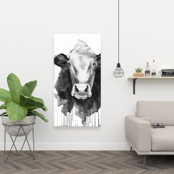 Canvas 24 x 48 - Cow
