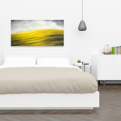 Canvas 24 x 48 - Yellow hill