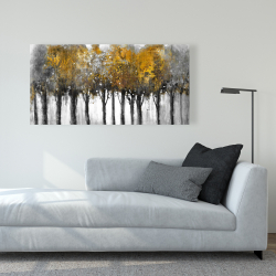 Canvas 24 x 48 - Illuminated forest