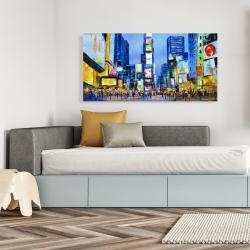 Canvas 24 x 48 - Cityscape in times square