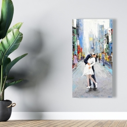 Canvas 24 x 48 - Kiss of times square