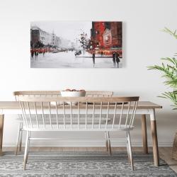 Canvas 24 x 48 - Classic street scene