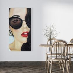 Canvas 24 x 48 - Fashionable sunglasses