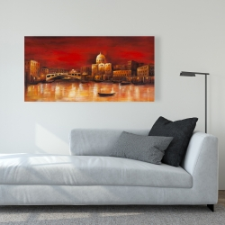 Canvas 24 x 48 - Venise by red dawn