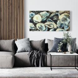 Canvas 24 x 48 - Oyster shells