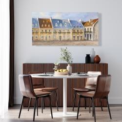 Canvas 24 x 48 - Old quebec city