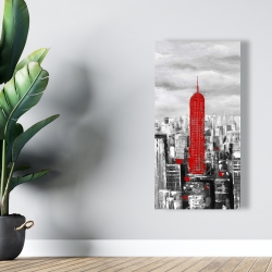 Canvas 24 x 48 - Empire state building of new york