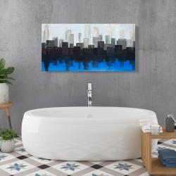 Canvas 24 x 48 - Blue city