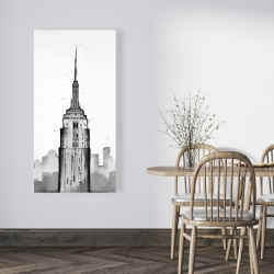 Canvas 24 x 48 - Empire state building