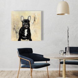 Canvas 36 x 36 - French bulldog
