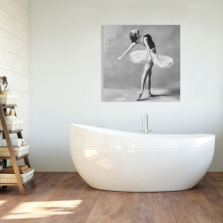 Canvas 36 x 36 - Classic ballet dancer