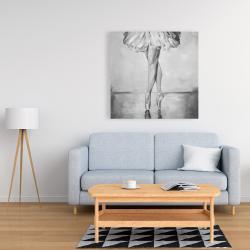 Canvas 36 x 36 - Ballet classic steps