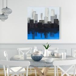 Canvas 36 x 36 - Blue city