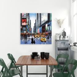 Canvas 36 x 36 - Peak hour