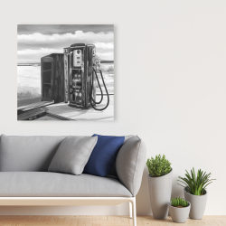 Canvas 36 x 36 - Old gas pump